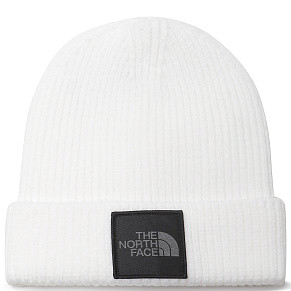 Шапка The North Face Cuff (White)
