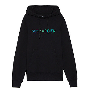 Мужская толстовка Submariner Basic Logo OIL Reflective Hoodie (Black)