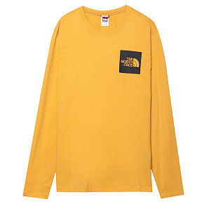 Мужской лонгслив The North Face Fine (Yellow)