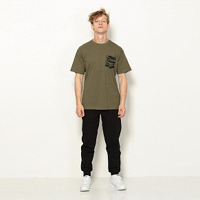 Мужская футболка Carhartt WIP Lester Pocket (Rover Green / Camo Tiger Jungle)