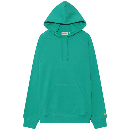 Женская толстовка Carhartt WIP Hooded Chasy (Yoda - Gold)