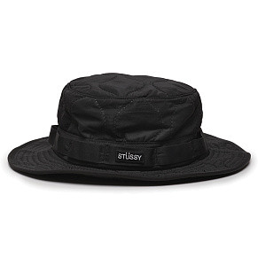 Панама Stussy Quilted Ripstop Boonie (Black)