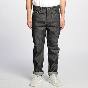 Мужские джинсы Edwin ED-55 Regular Tapered (Blue Unwashed)