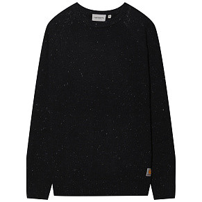 Мужской свитер Carhartt WIP Anglistic (Dark Navy Heather)