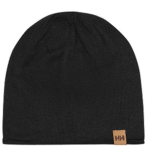 Шапка Helly Hansen Merino Wool Beanie (Black)
